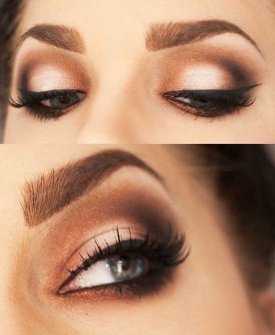 Makeup: How to shape your eyebrows tutorial   Types of ...