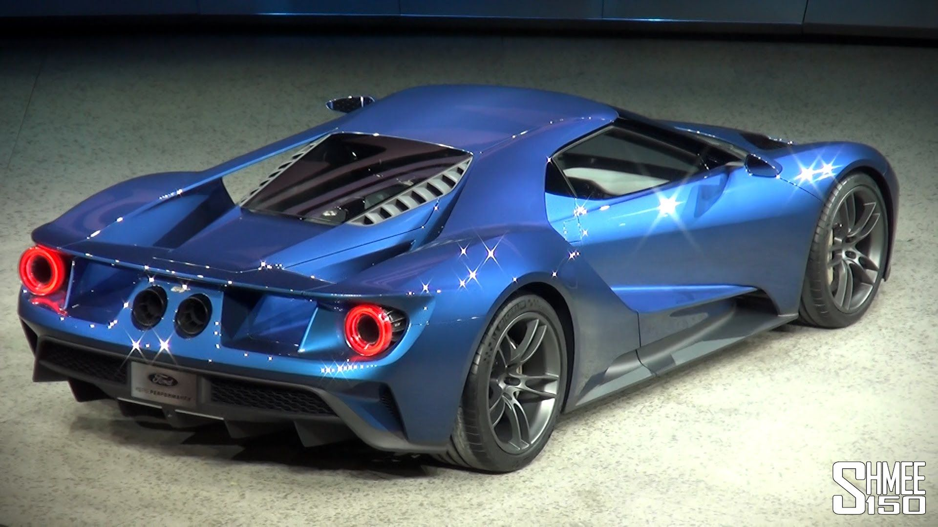 New Ford Gt Twin Turbo V Revealed At Naias  Youtube