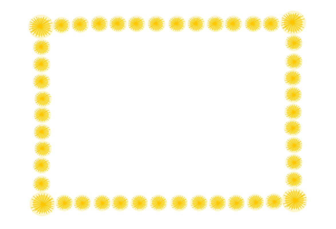 yellow frame png free digital blossom frames and borders fotorahmen freebie