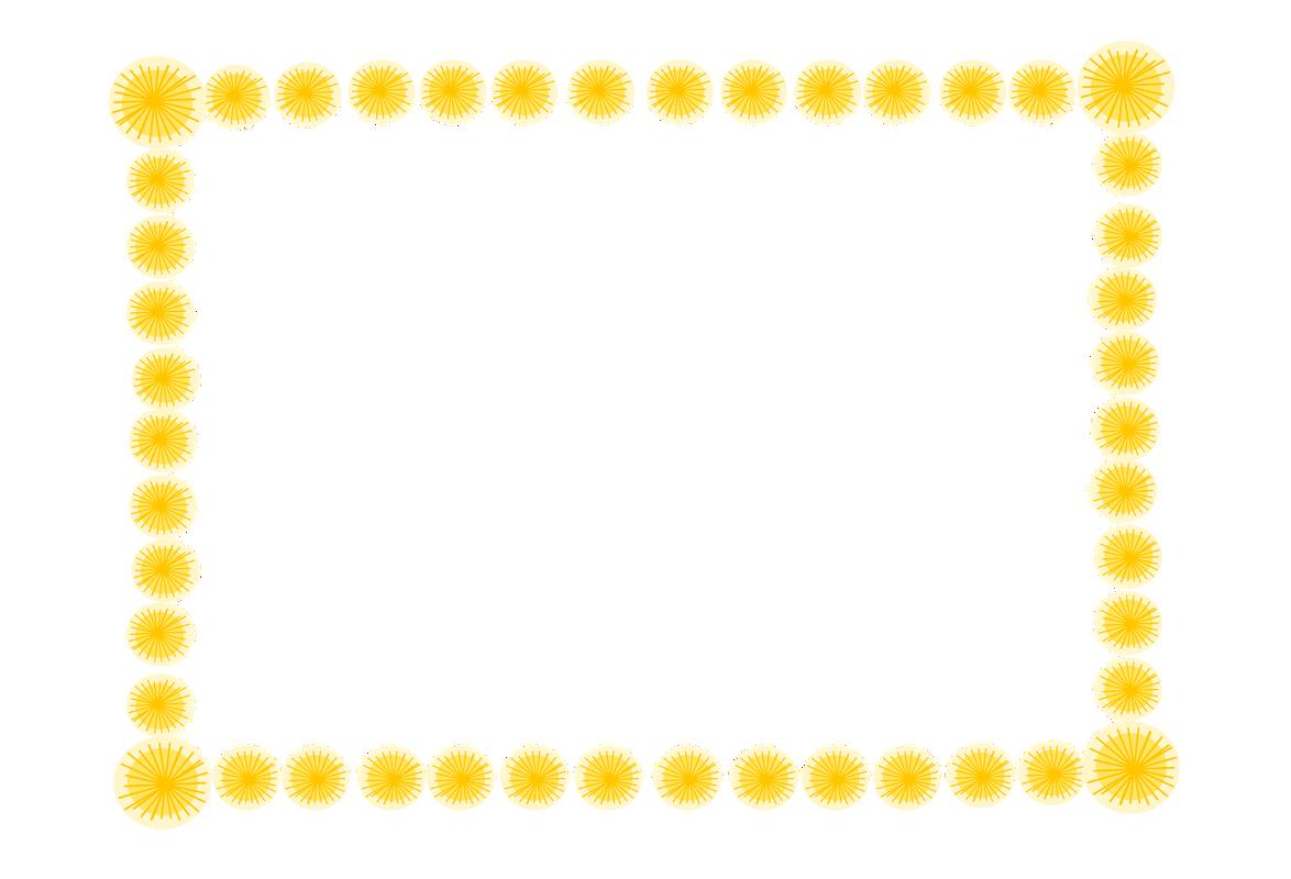 Желтые рамки и картинки