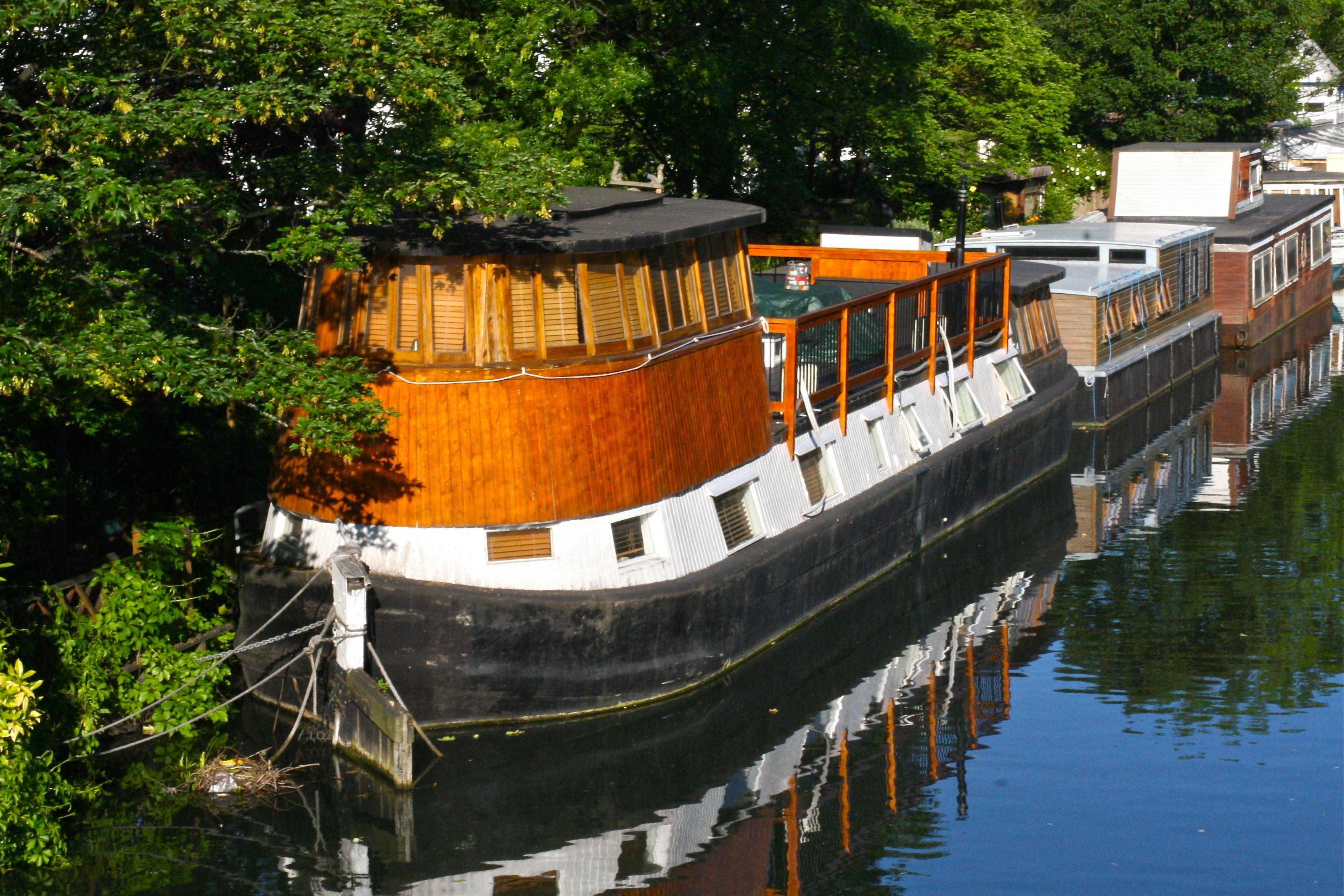 Richard Branson S Enormous Houseboat Little Venice I Think His