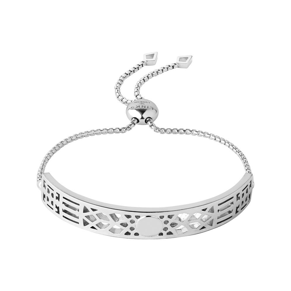 Links Of London Timeless Sterling Silver Toggle Bracelet Inspired By Big Ben Silver Toggle Bracelet Toggle Bracelet Silver Bracelet