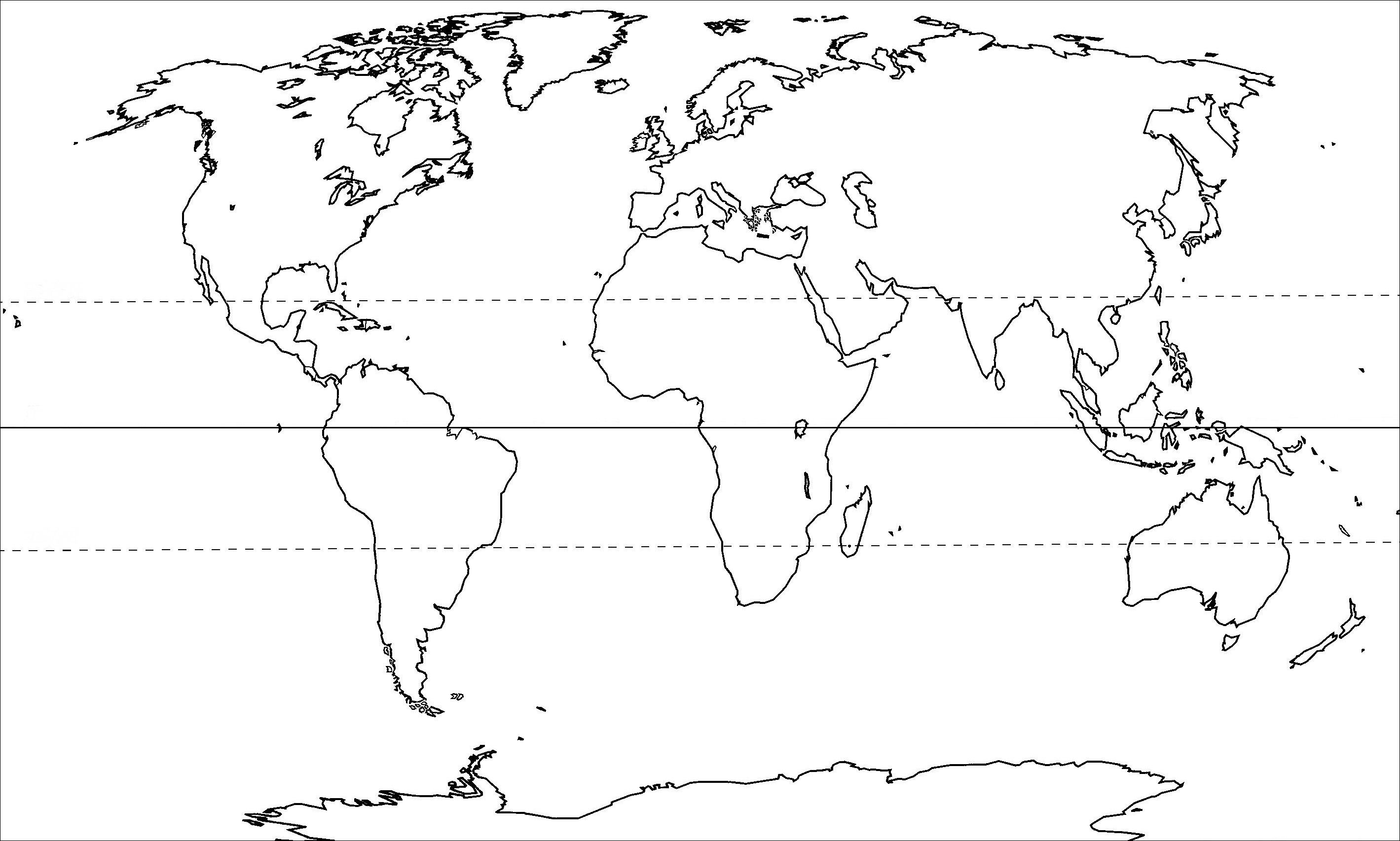 World Political Map Outline Printable   Google Search