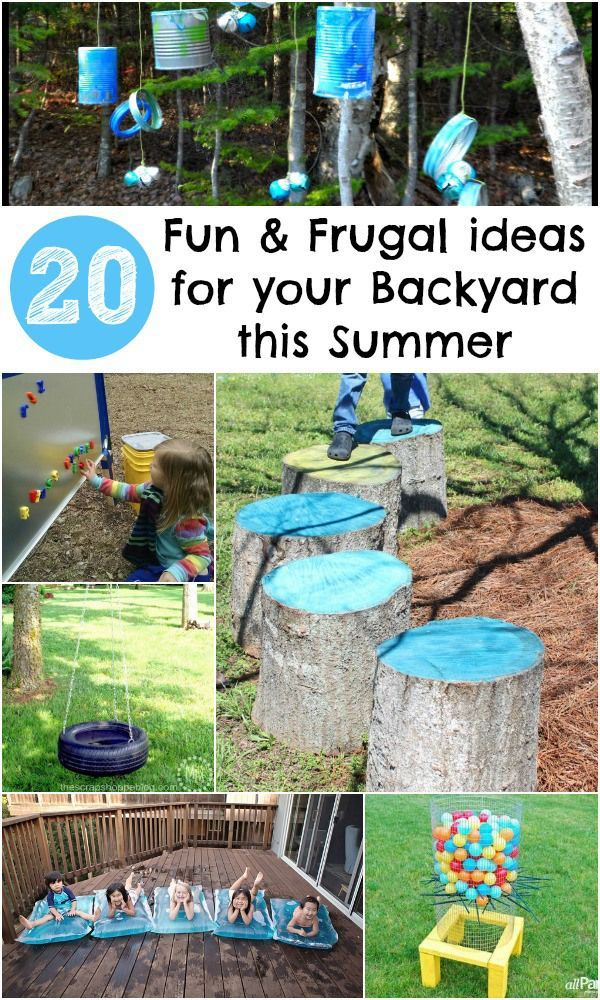 20 Awesome Features To Add To Your Backyard This Summer, All Are Cheap To  Make