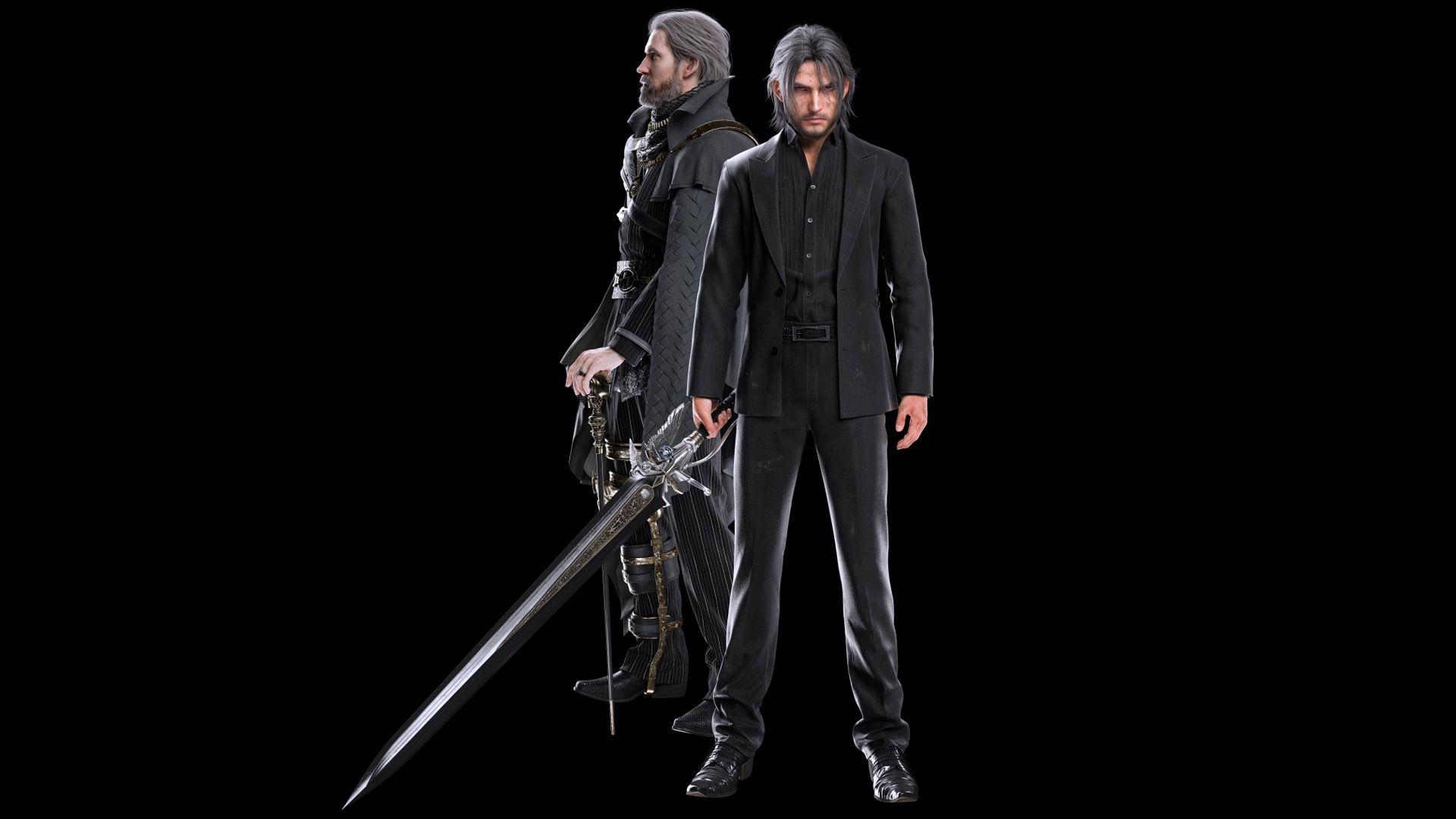 Noctis And King Regis Final Fantasy Xv Final Fantasy Final