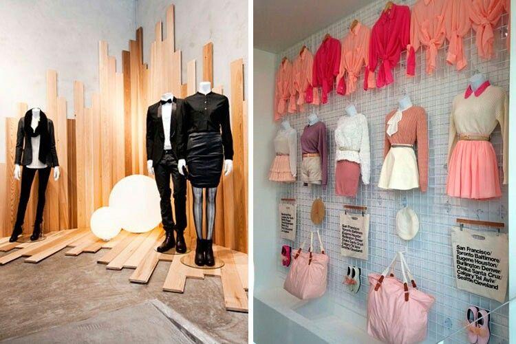 Exhibidor de tienda feria outfits pinterest for Decoracion de interiores locales de ropa