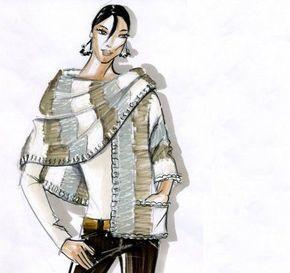 Photo of Lavori a maglia sciarpa