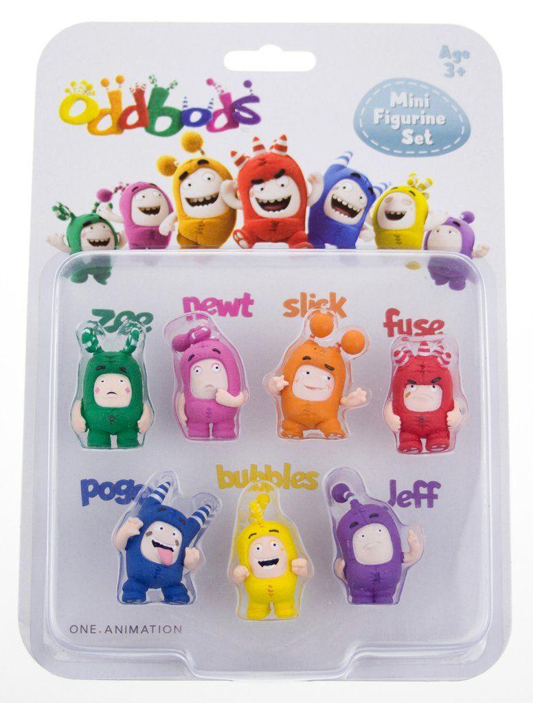 b3a7288e980 Oddbods 30mm Figurine Set | AYK World | Toys, Toys uk, Cartoon kids