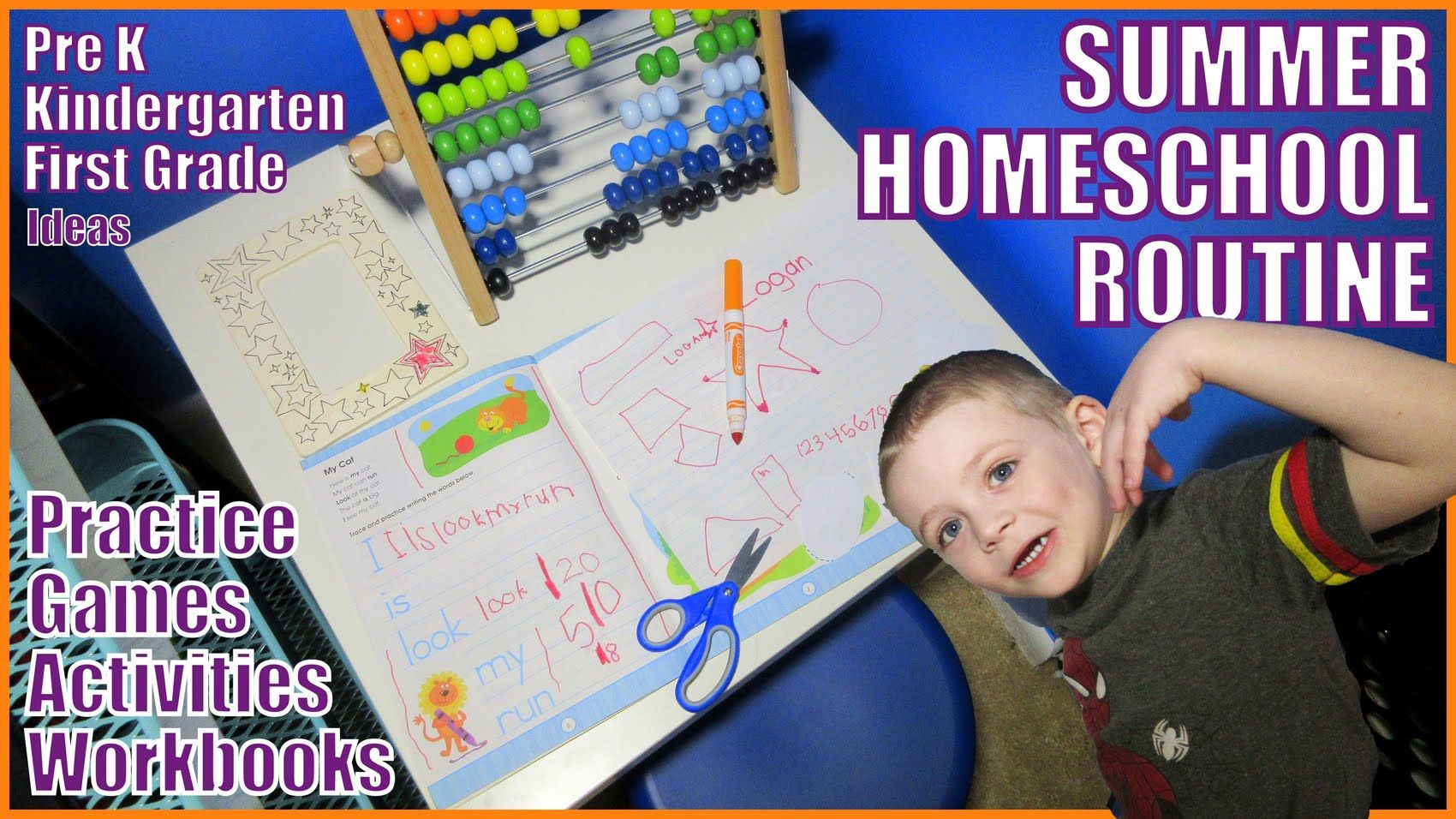 Our Homeschool Summer Routine Practice