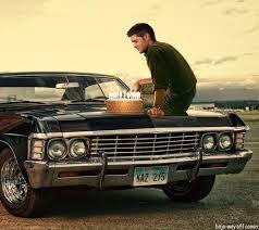 Impala 1967 Dean の画像検索結果 Supernatural Supernatural Tv