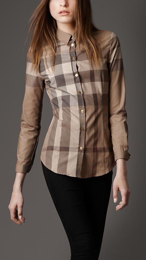 bdfccfc6091f Check Cotton Shirt