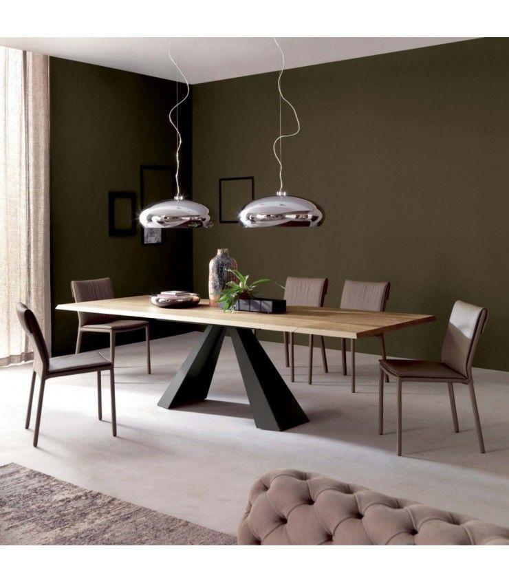 Table bois acier tendance 104 200 90 75 cm table salle Table salle a manger originale
