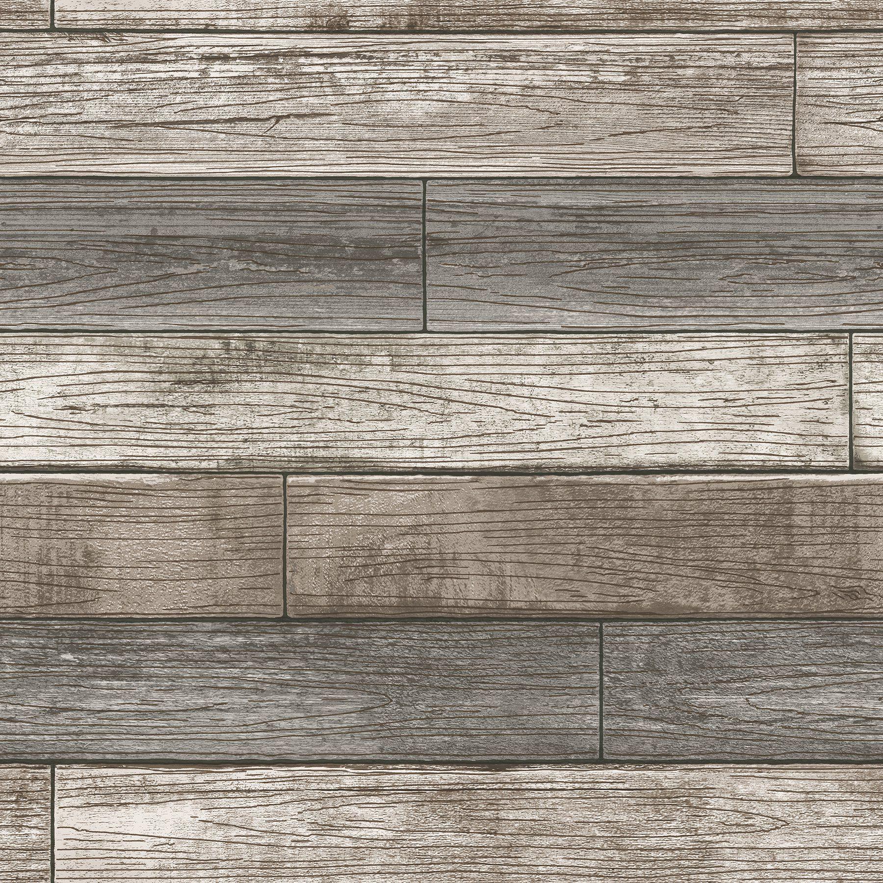 Nuwallpaper Reclaimed Wood Plank Natural Raised Ink Peel Stick Wallpaper Walmart Com In 2021 Nuwallpaper Wood Planks Peel And Stick Wallpaper