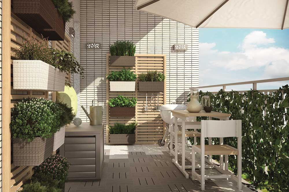 Arredare bene il balcone. Per vivere al meglio la bella