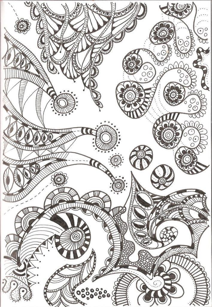 Free Printable Zentangle Coloring Pages For Adults Zentangle Patterns Zentangle Drawings Tangle Art