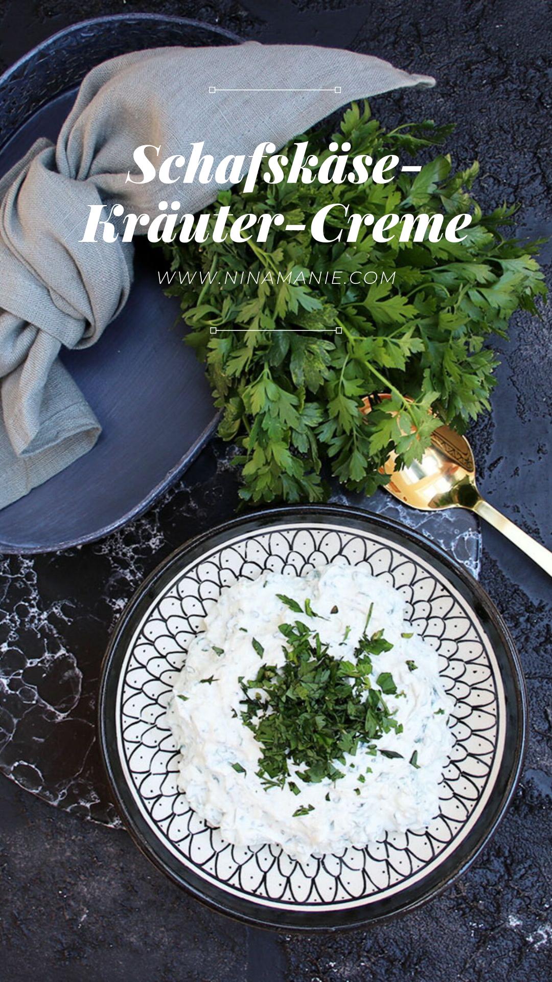 Schafskäse-Kräuter-Creme #levanteküche