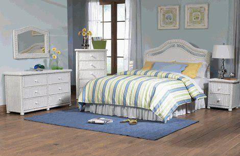 Wicker Bedroom Furniture Elana Set of 4   wanelo/p/3378918