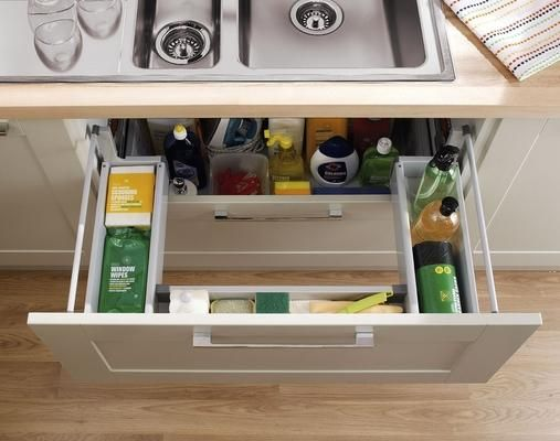 Under Sink Storage Drawer