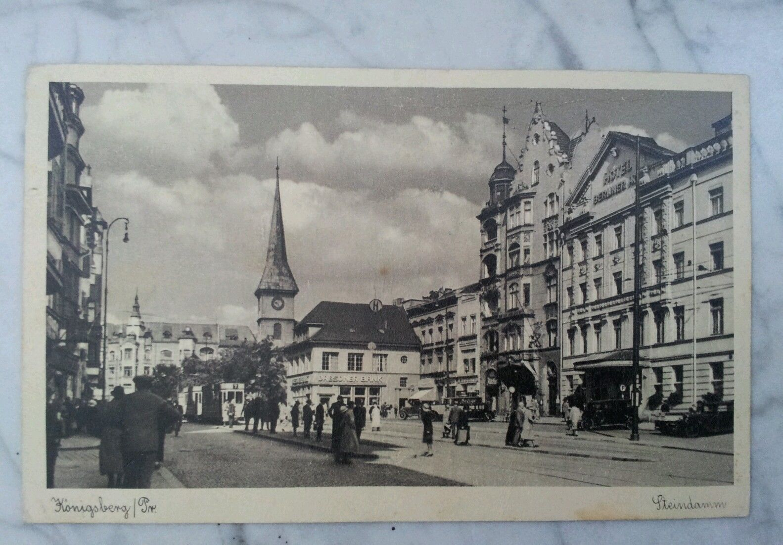 Königsberg Ostpreußen Steindamm 1941 Hotel Berliner Hof | eBay