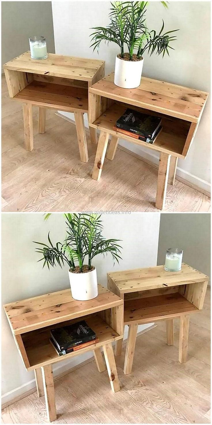 55+ Excellent Minimalist DIY Wooden Furniture That Will Enhanced Your Living Room images