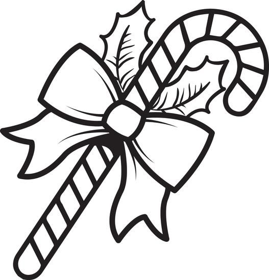 Printable Candy Cane Coloring Page For Kids Candy Cane Coloring Page Christmas Coloring Pages Candy Coloring Pages