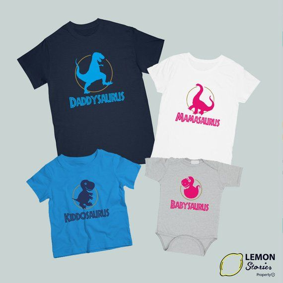 15727ad5 Dinosaur Matching Family, Price for 1 shirt, Matching outfit Dinosaur  Matching Dinosaur Shirt Daddy