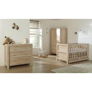 Tutti Bambini Milan 3 Piece Oak Furniture Room Set At Argos Co Uk