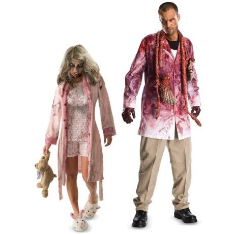 foto de The Walking Dead Couples Costumes | Fantasia halloween masculinas ...