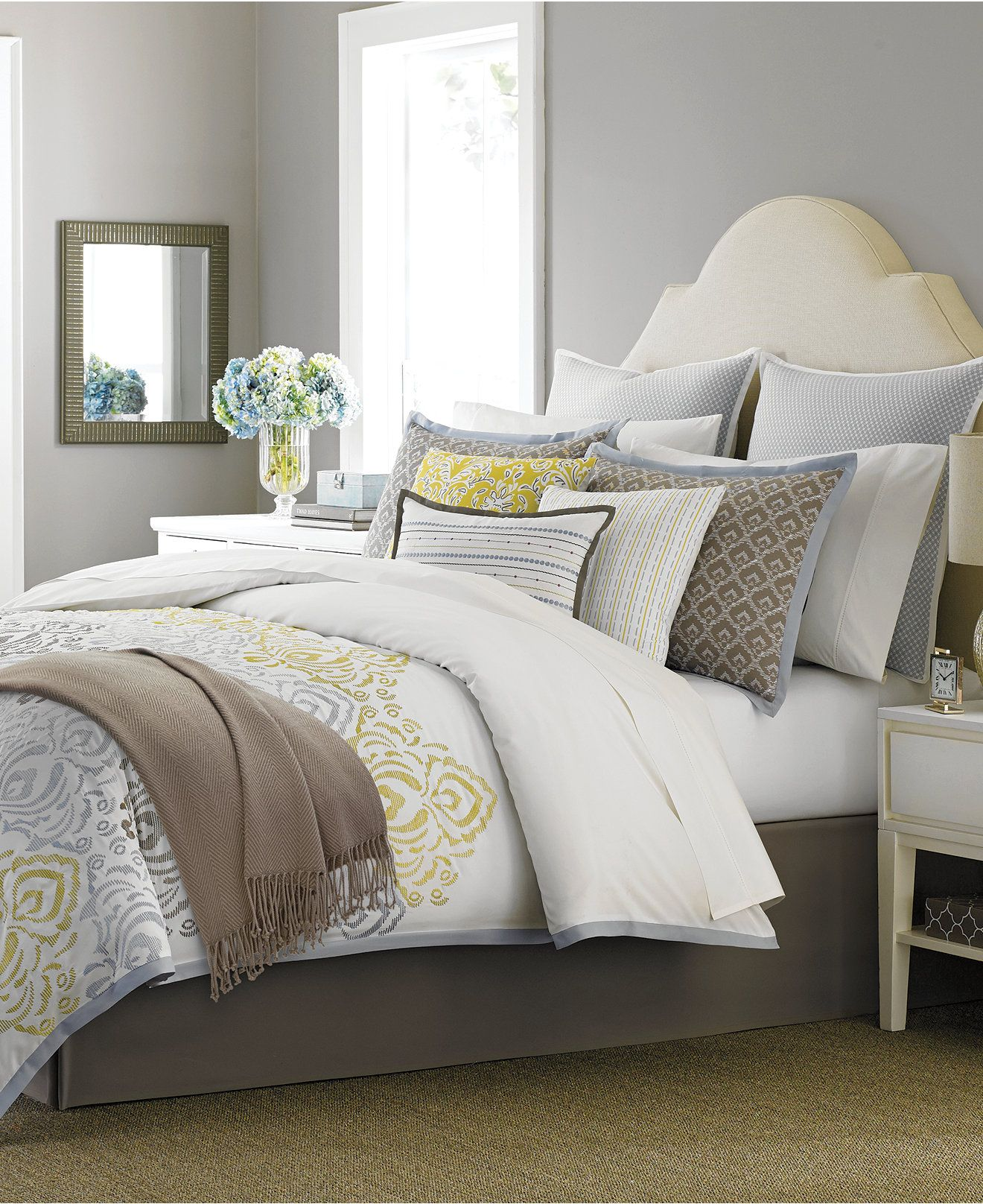 Martha Stewart Collection Cape May 10-Piece Comforter Sets ... : full quilt sets - Adamdwight.com
