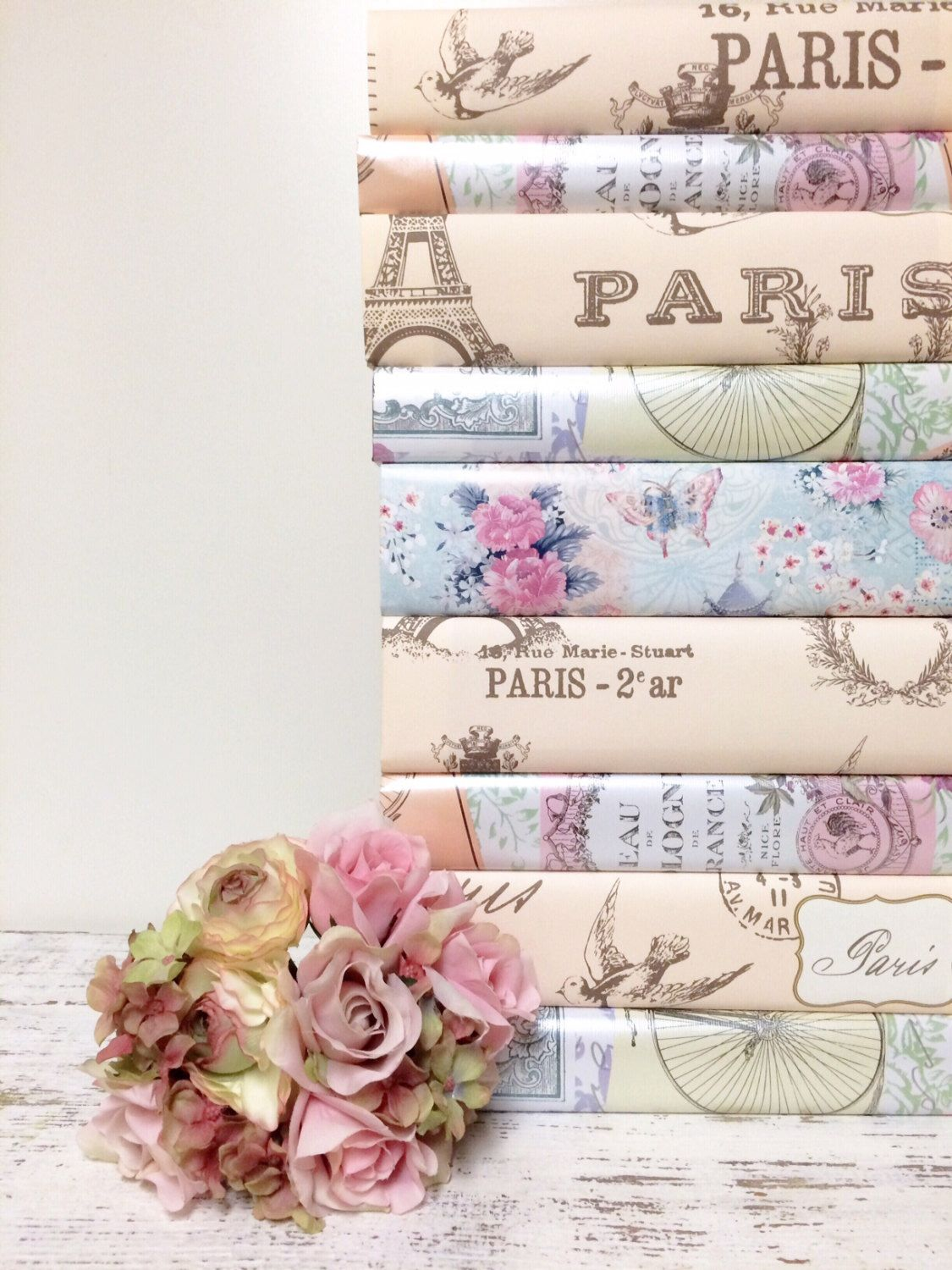 Pastel Wedding, PER BOOK, 2nd Photo is Paper choice now , NO Pink ...