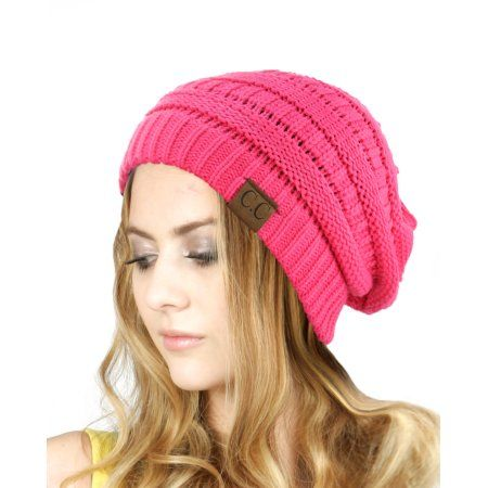 1260bfc4f Clothing   Finishing Touches   Slouchy beanie, Cable Knit, Knitted hats