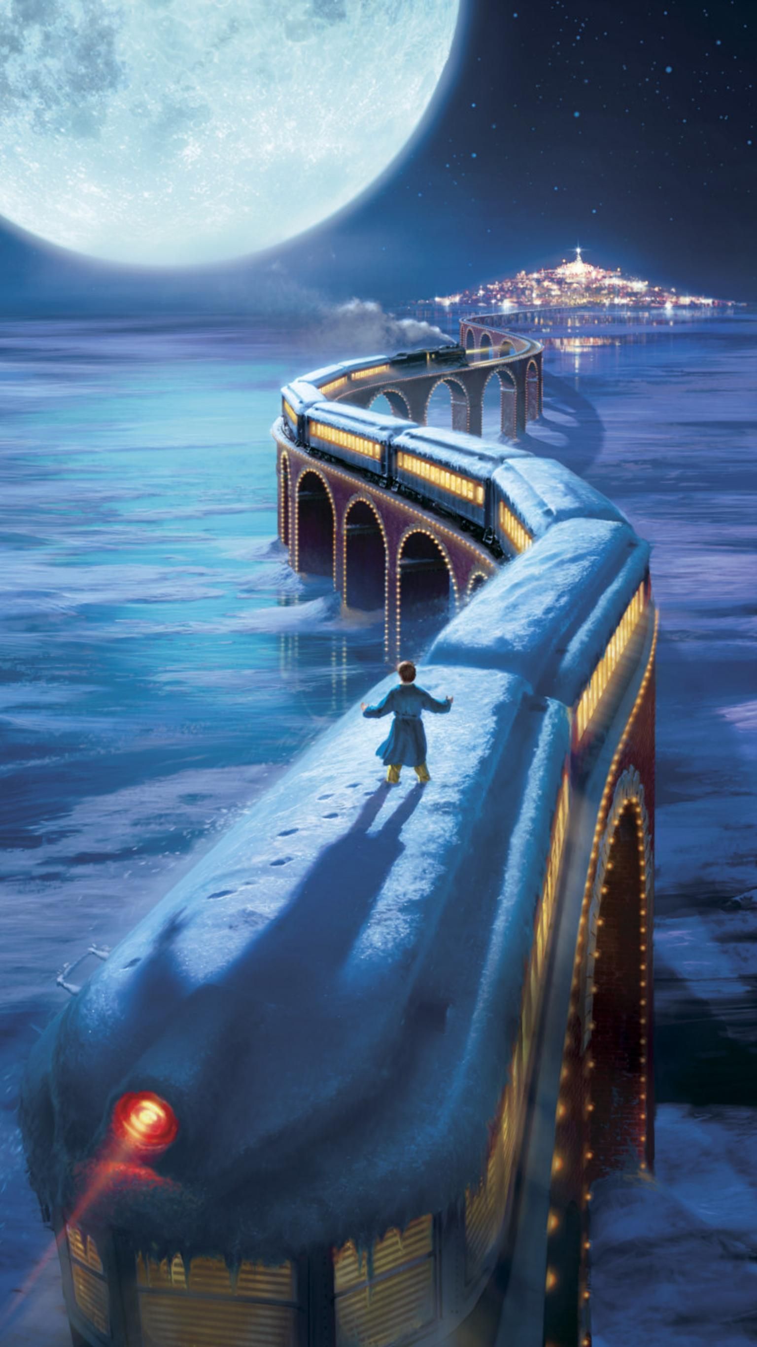 The Polar Express (2004) Phone Wallpaper | Moviemania
