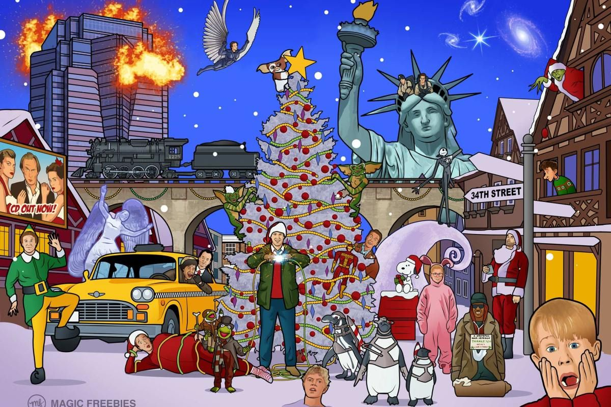 There Are Clues To 25 Christmas Movies In This Picture Can You Name Them All Christmas Picture Quiz Classic Christmas Movies Christmas Quiz