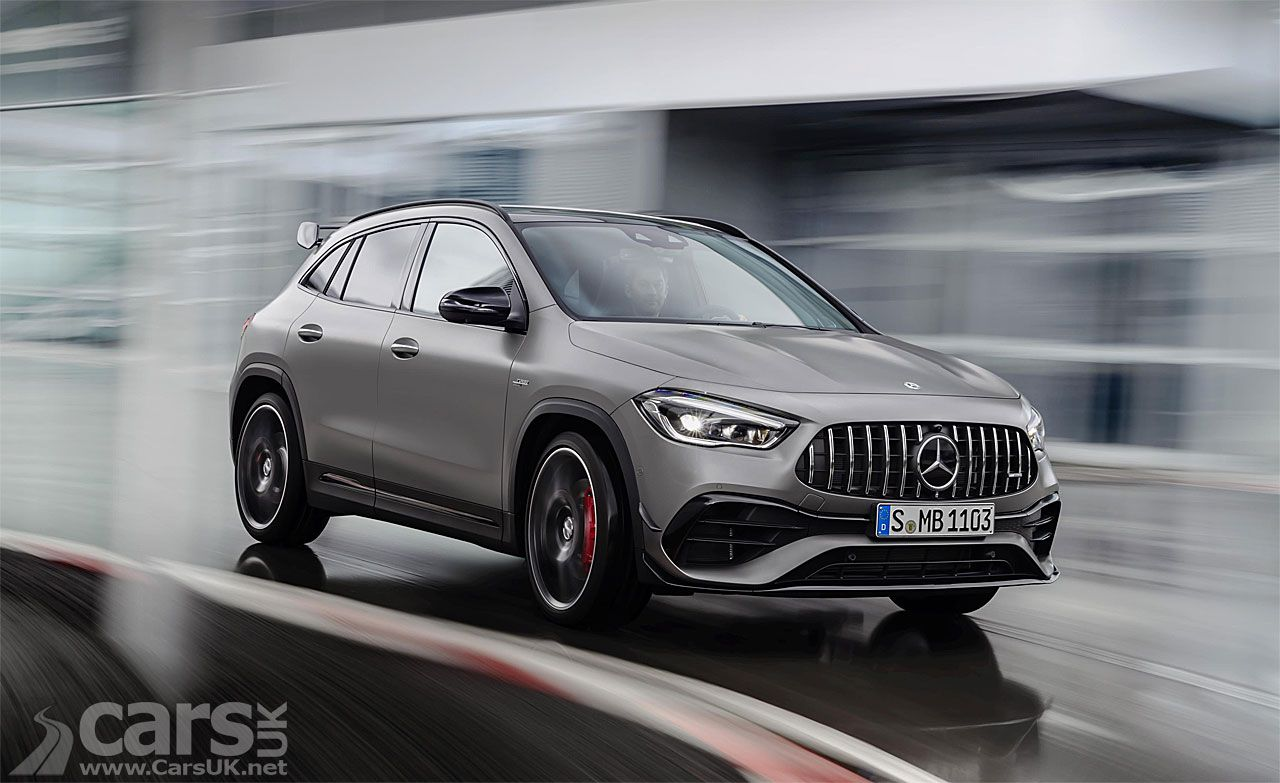 New 2020 Mercedes Amg Gla 45 S Arrives It S An A45 S Just
