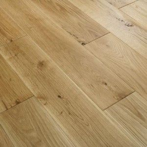 Florence Solid Rustic Oak Flooring 125mm Brushed Uv Oiled