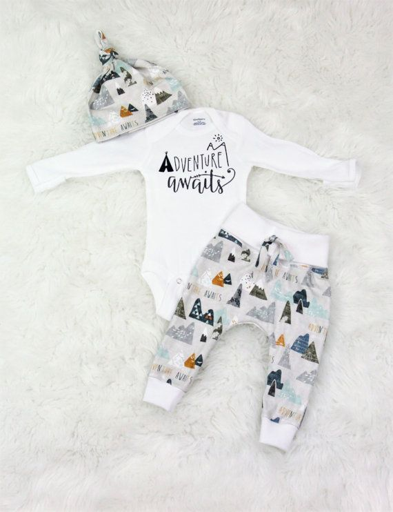 dd5e96a8ede52 Baby boy coming home outfit adventure awaits outfit baby boy take ...