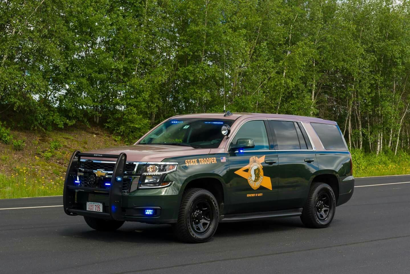 New Hampshire State Police Dept. of Safety 735 2016