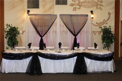 how to decorate a head table at a wedding cheap table decorations wedding receptions on