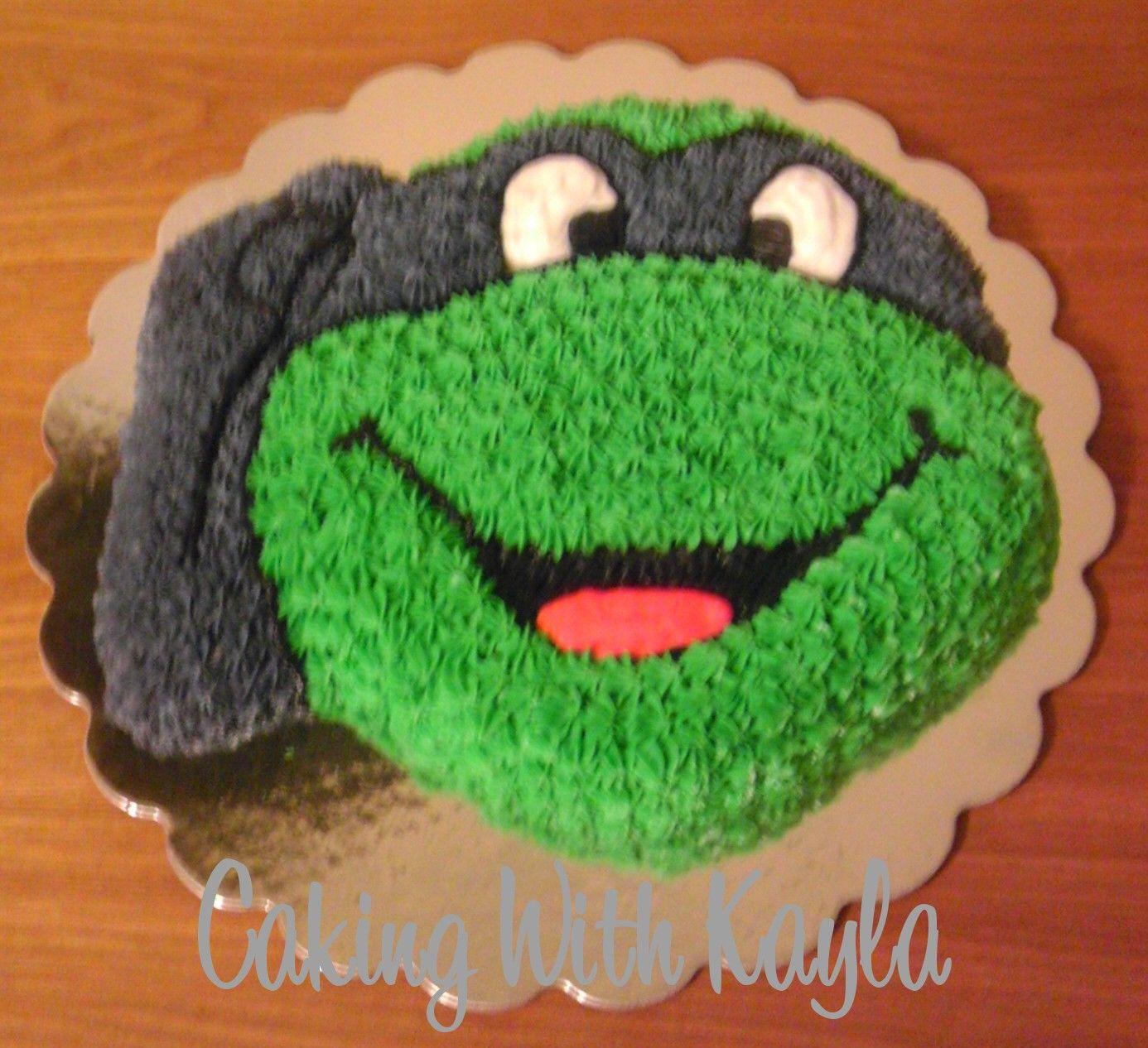 Ninja Turtles Cakes At Walmart Birthday Cook Pinterest Cake
