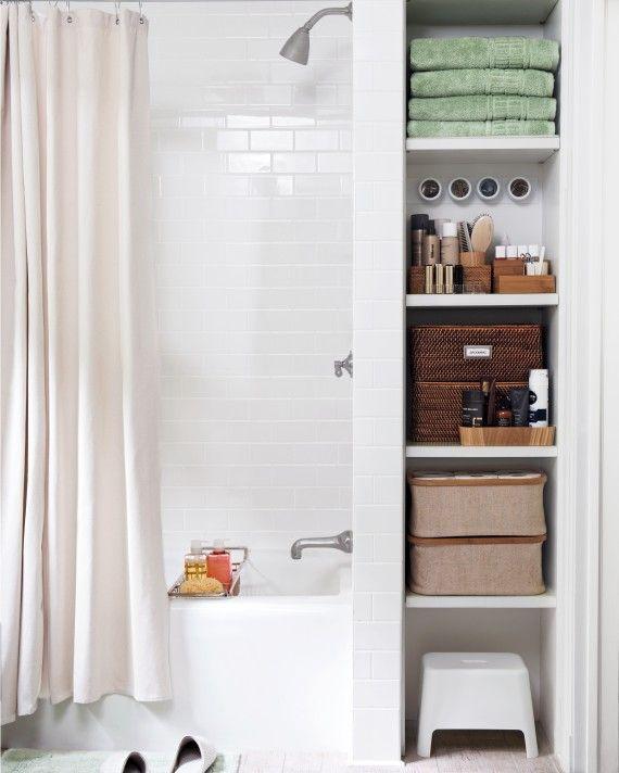 Smart Space Saving Storage Ideas For Small Bathrooms Space Saving Bathroom Small Bathroom Storage Bathroom Storage