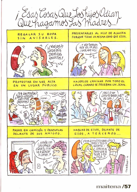 ESAS COSAS QUE LOS HIJOS ODIAN QUE HAGAN LAS MADRES ! | Language