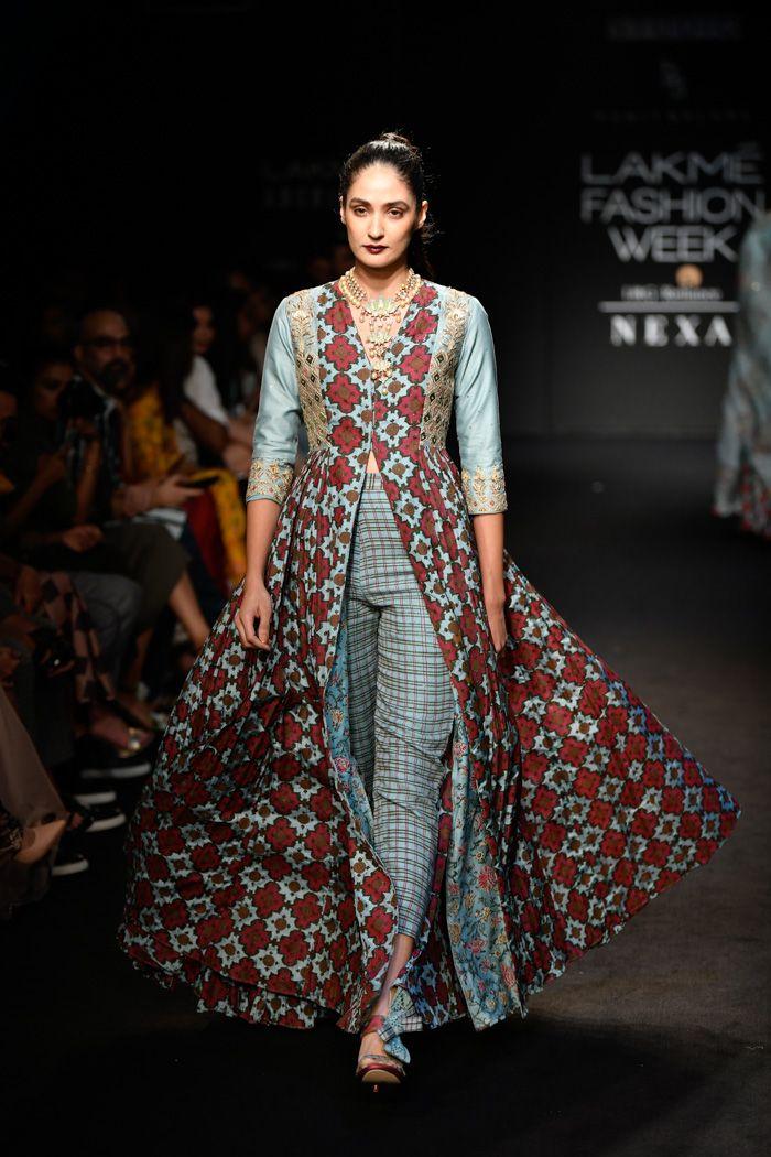 Lfwwf18d5s3bpunitbalanarunway064 Lakme Fashion Week Indian Designer Outfits Kurti Designs Party Wear
