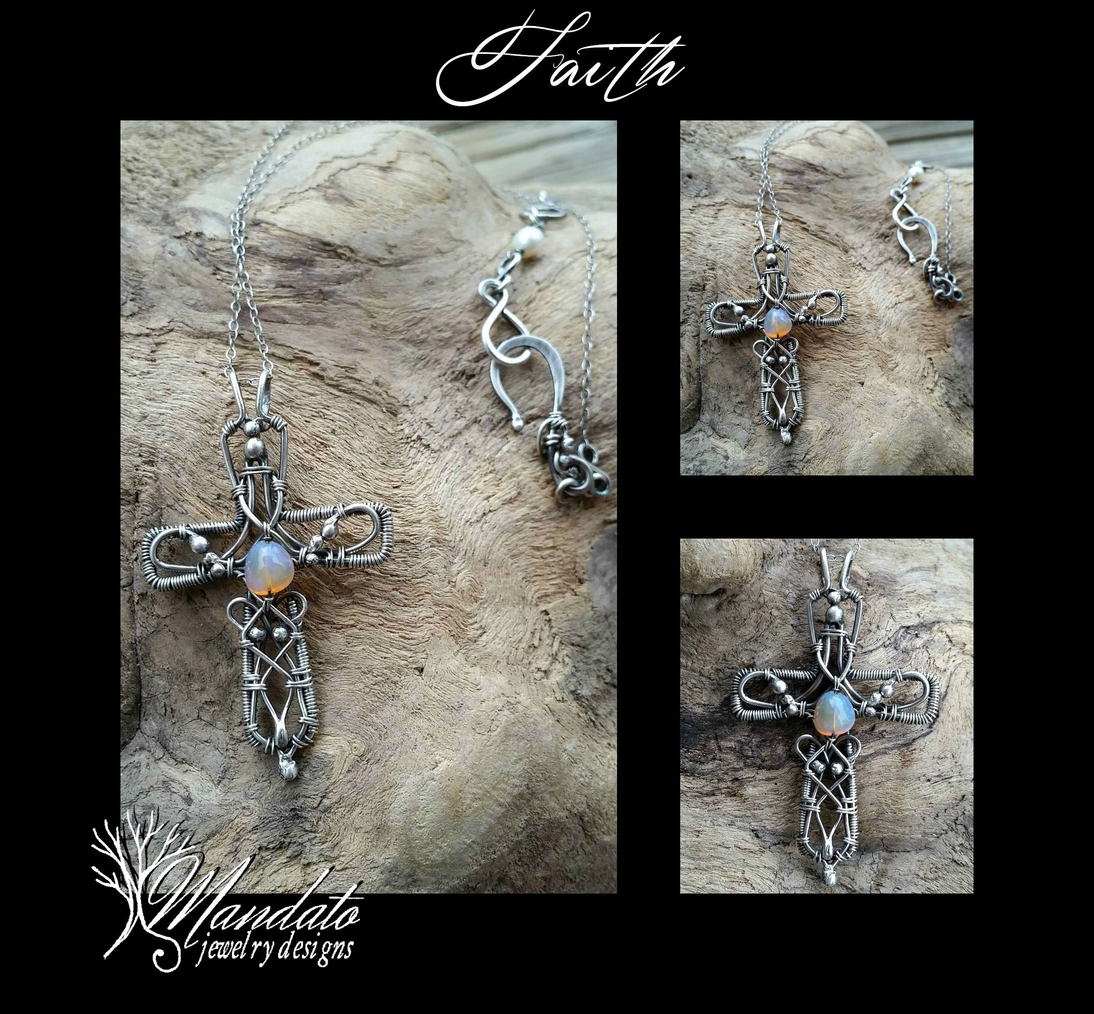Faith is now available by Mandato Jewelry designs. Find us on facebook! https://www.facebook.com/MandatoJewelryDesigns