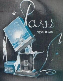 Coty Perfumes: Paris by Coty c1921