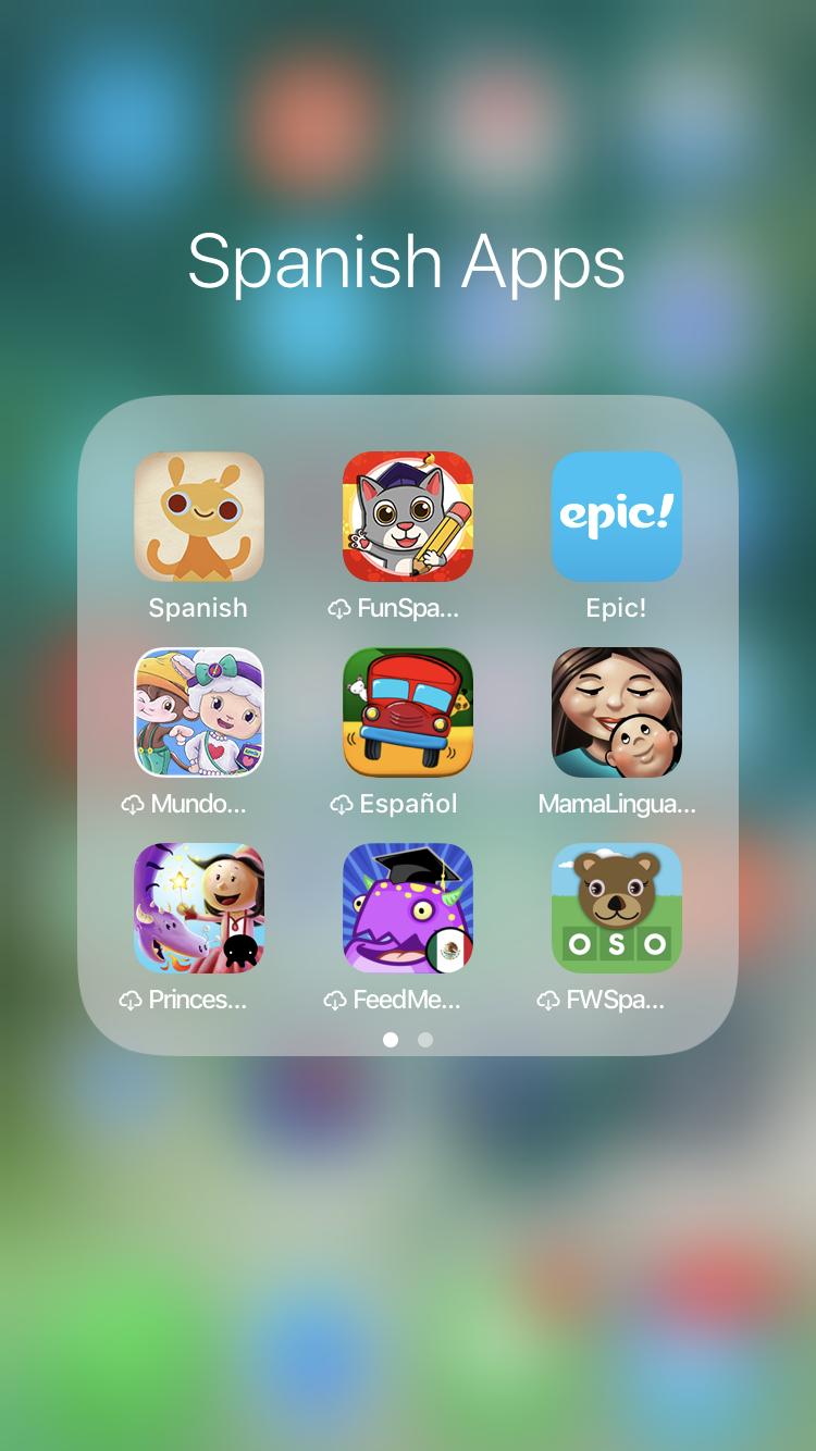 Best Spanish Apps For Kids Learning spanish, App, Spanish