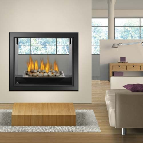 Napoleon Hd81 See Thru Gas Fireplace Fireplace