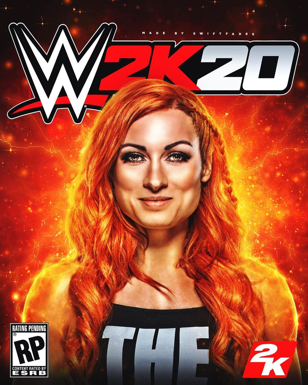 We 2k20 Cover Ft Beckylynchww Wwe Wallpapers Becky
