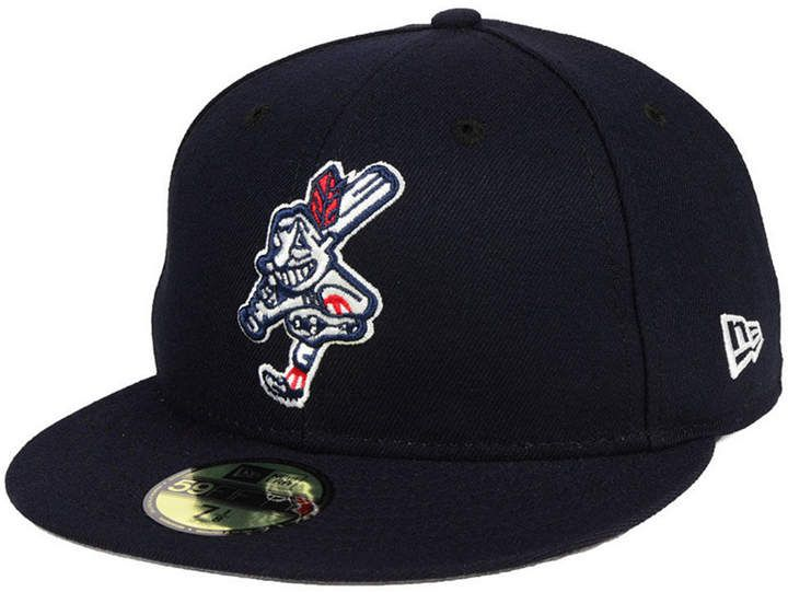 low priced 9bb60 681c0 New Era Cleveland Indians Wahoo Custom 59FIFTY Fitted Cap ...