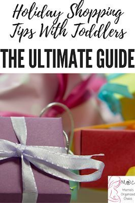 holiday shopping tips with toddlers- the ultimate guide #christmasgiftideas #toddlerlife #toddlers #mom #holidayshopping #parentingtips #parenting101 #parenting