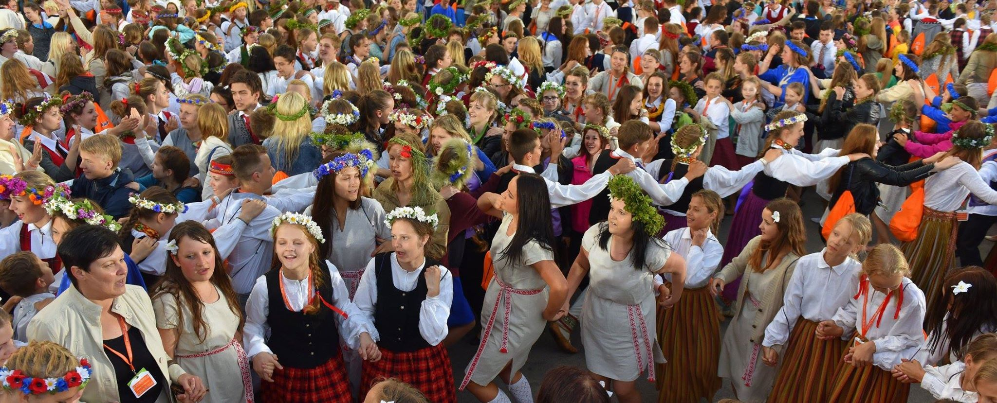 11th latvian school youth song and dance festival in riga